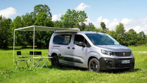 Peugeot Camper Van