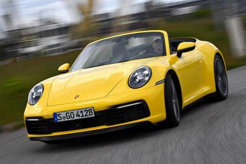 Prueba del Porsche 911 Carrera 4S Cabriolet