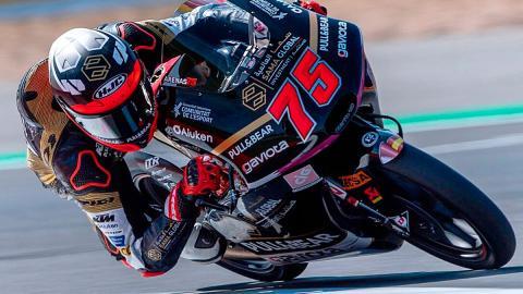 circuito piloto motos curva