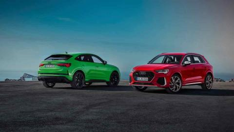 Audi RSQ3 y Audi RSQ3 Sportback