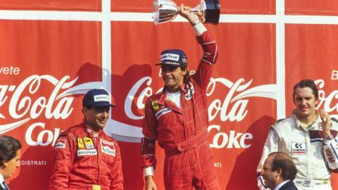 Berger gana en Monza
