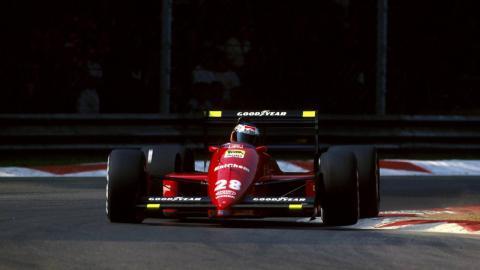 Berger en Monza 1988