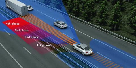 Conducción autónoma: frenada automática