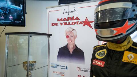 Exposición María de Villota
