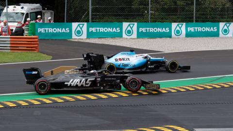 Haas en el GP de Italia