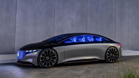 Clase S electrico prototipo concept