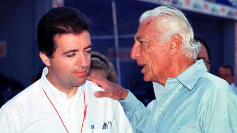 Piero Ferrari y GIani Agnelli