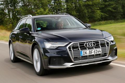 Prueba del Audi A6 allroad quattr