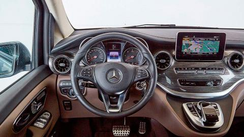 Prueba del Mercedes Clase V 300d 2019