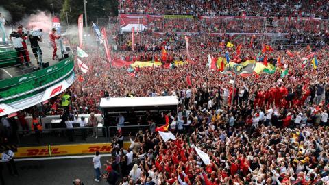 Tifosis en Monza