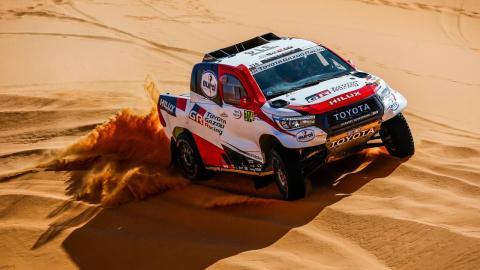 Alonso en las dunas
