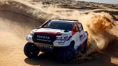 Alonso, de test en Marruecos