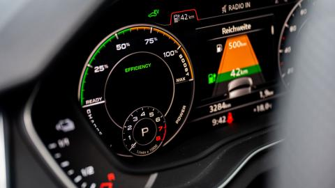 Audi Q5 55 TFSI e gráficos pantalla