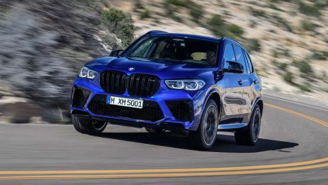BMW X5 M y BMW X5 M Competition