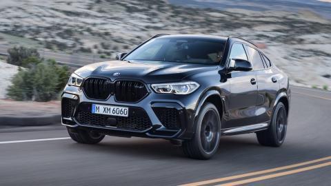 BMW X6 M y X6 M Competition 2020