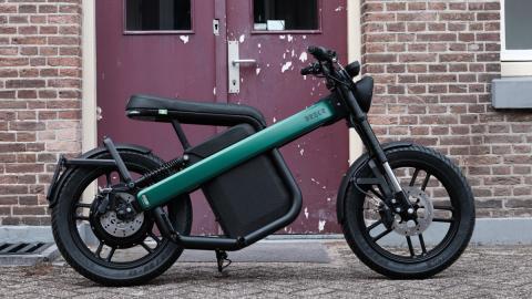moto electrica ciudad ciclomotor holanda