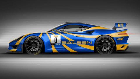 El concept Saleen GT4 está casi listo para competir