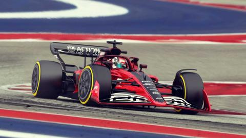 F1 2021 en pista