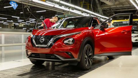 fabricas de Nissan en Europa