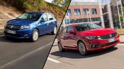 Fiat Tipo vs Dacia Sandero