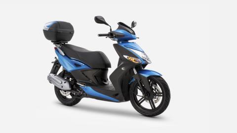 scooter 125 ciudad barata azul