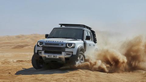Land Rover Defender SVR
