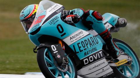 clasificacion piloto leopard racing curva circuito