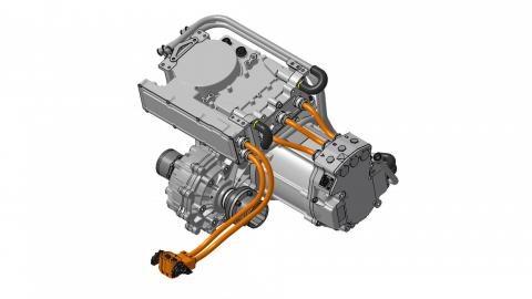 Motor eléctrico universal Swindon Powertrain