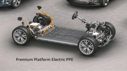 Plataforma coche eléctrico Audi PPE