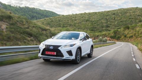 Prueba Lexus RX 450h 2020