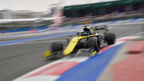 Ricciardo en el GP de México