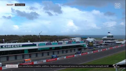 recta paddock circuito