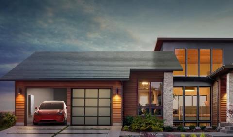 Tesla presenta la tercera generación de su techo solar