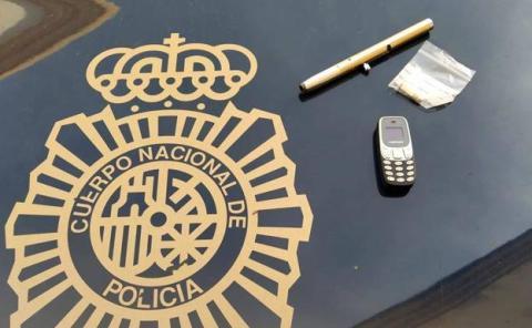 Detenido conductor con bolígrafo pistola en Valencia