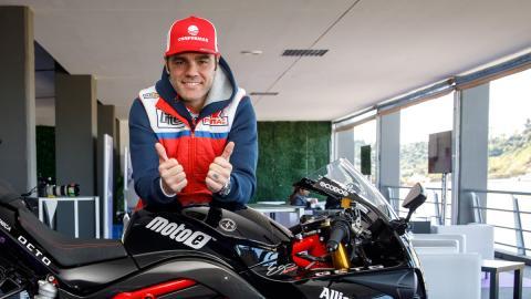 Raul Salinas motoe futuro marquez