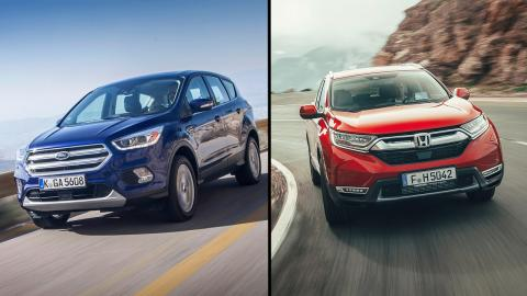Ford Kuga vs Honda CR-V