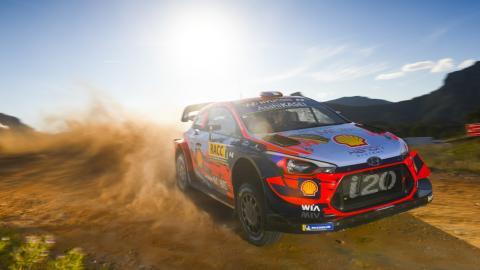 Hyundai en el WRC