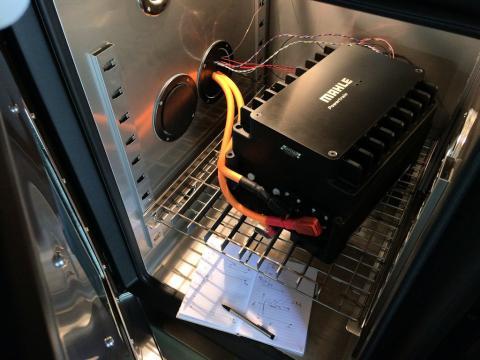 Mahle presenta el prototipo de una nueva batería de 48 v para mild-hybrids