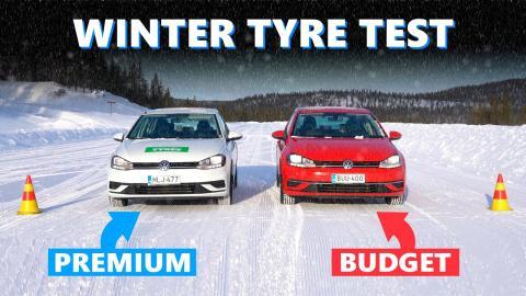 neumáticos de nieve baratos o caros