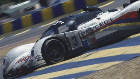 Peugeot en Le Mans 1993