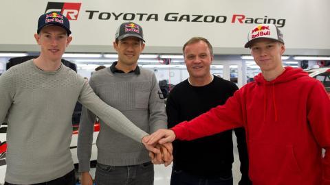 Pilotos de Toyota en 2020