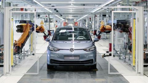 producción del Volkswagen ID.3