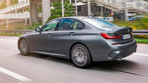 Prueba del BMW 330e