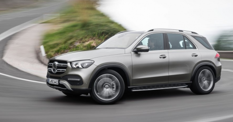 Prueba Mercedes GLE 300d 2020