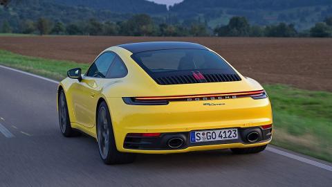 Prueba del nuevo Porsche 911 Carrera 2019