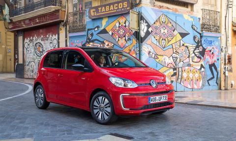 Prueba del Volkswagen e-up! 2020