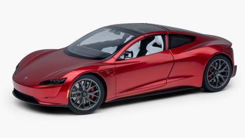 réplica del Tesla Roadster