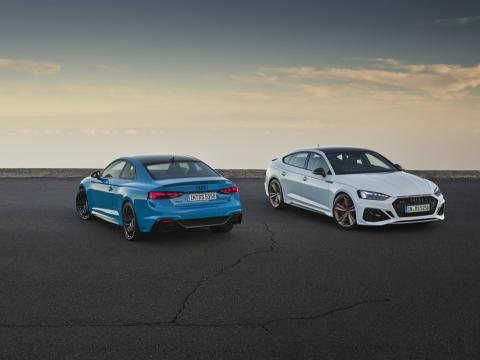 Audi RS 5 Coupé y RS 5 Sportback 2020
