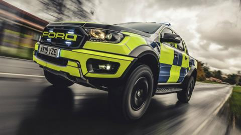 Ford Ranger Raptor de la policía