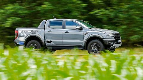Prueba del Ford Ranger Raptor
